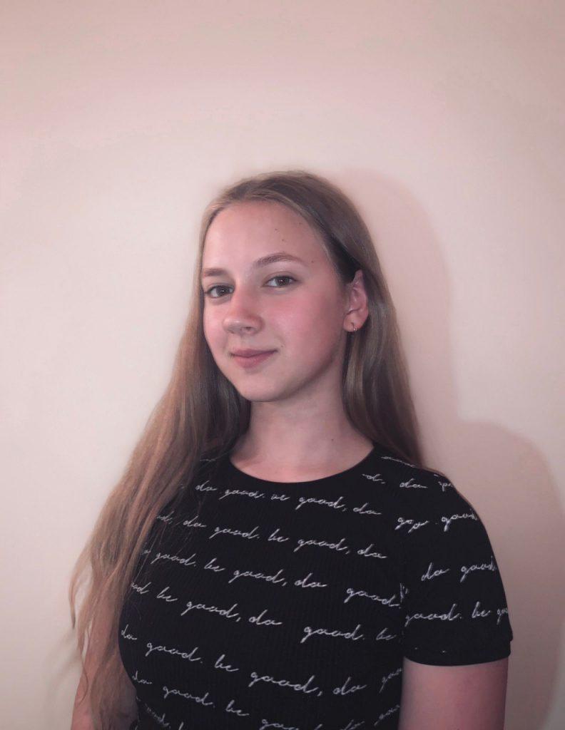 Президент школи - Шевченко Маргарита, учениця 9А класу.